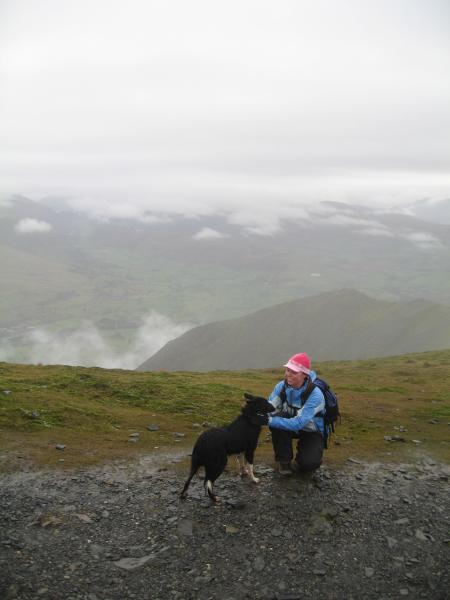 Blencathra with Vickie and Pippa