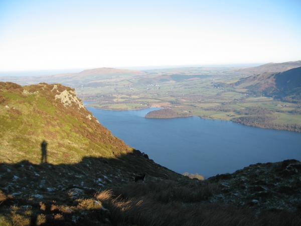 Bassenthwaite Lake from Barf