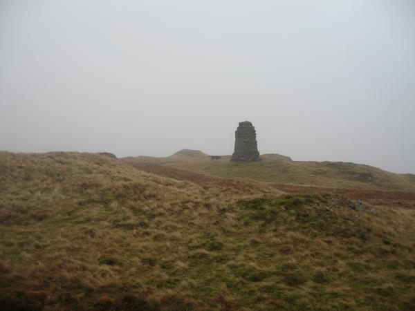 Tarn Crag summit and pillar