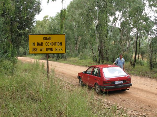 Bad Roads in Africa Bad Road ""