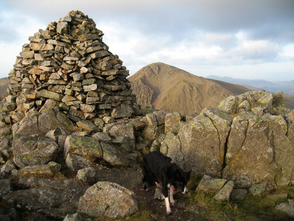 Lingmell and Great Gable beyond