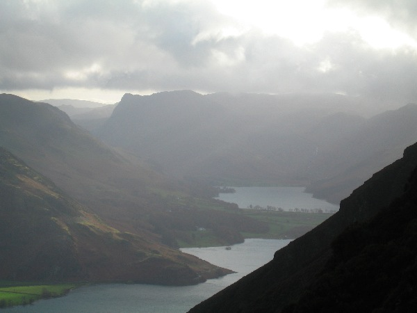 Great views to Crummock Water and Buttermere