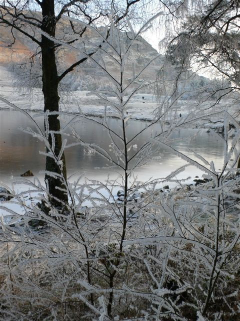 Icy around Blea Tarn