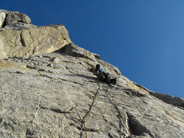 Paul, Breaking the Barrier (E1 5b)