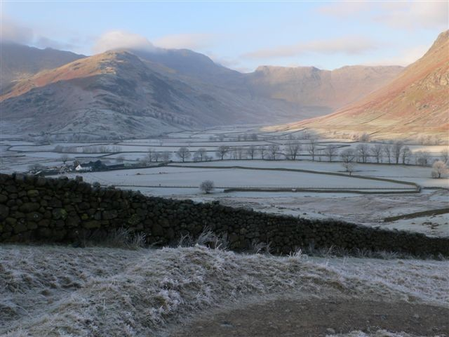 Frosty down Langdale