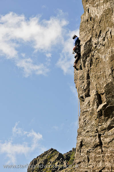 Richard on West Buttress