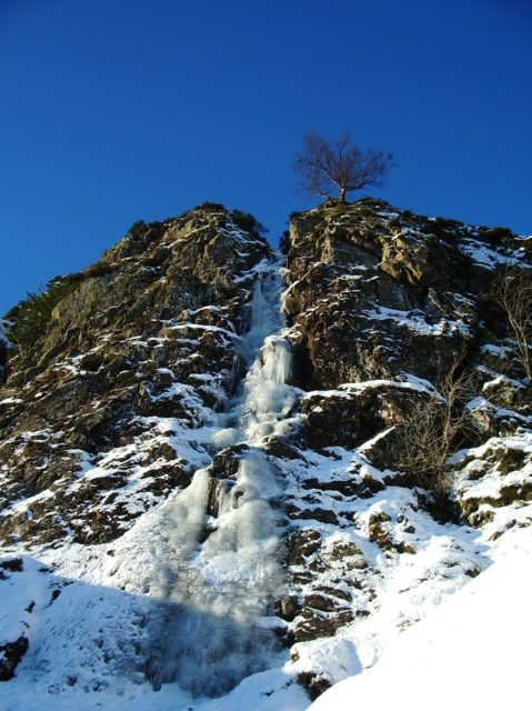 Shoulthwaite Gill, a truly stonking route - and it's in the Lakes!