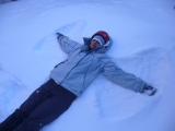 Amy's Snow Angel