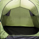 The large inner tent - there's space for three adults to sleep.  Plus, the porch area has a ground sheet too (for wet weather?) and it's just big enough for two to sit in with small deck chairs.