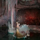 Ludwig's ridiculous Venus Grotto. Everything in the picture is fake.