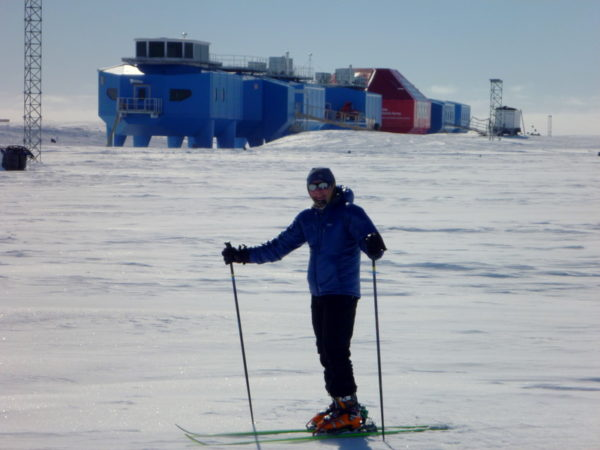 Skiing at Halley 6