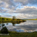 On really hot summer days this tarn above Ings is a popular swimming spot