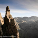 The classic picture of Napes Needle.