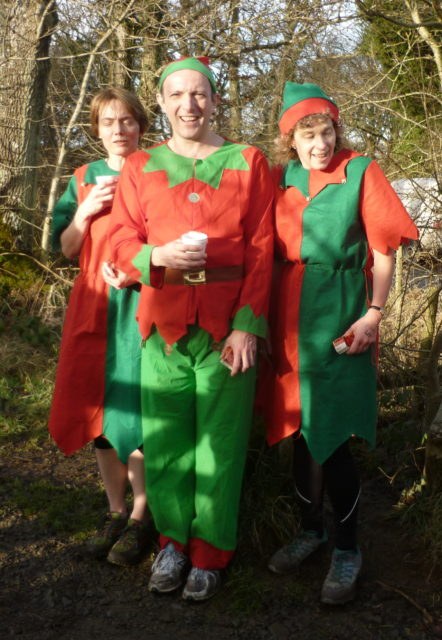 A few elves after the race
