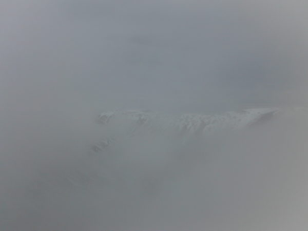 Typical Scottish weather in the Cairngorms