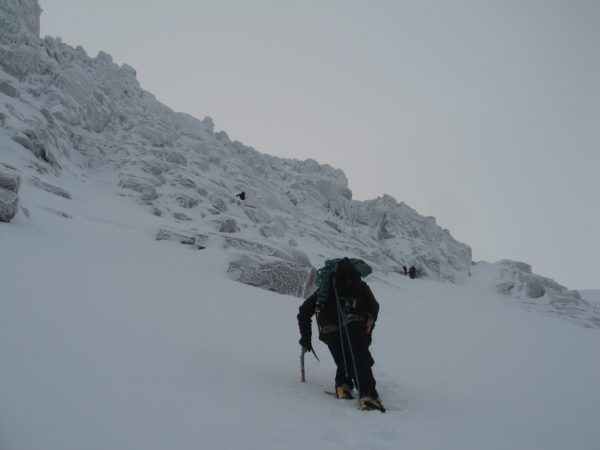 Heading towards Fingers Ridge