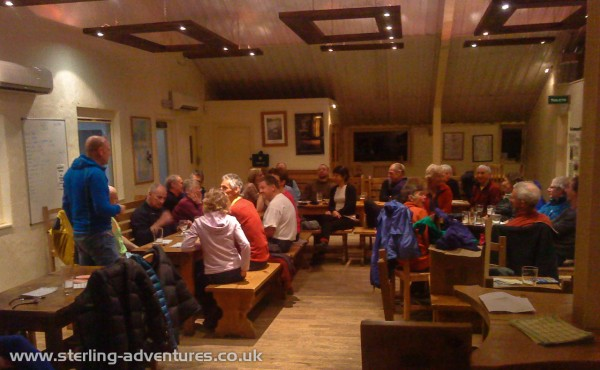 "The ""Bingo Quiz"" night at the Hawkshead Brewery in Staveley"