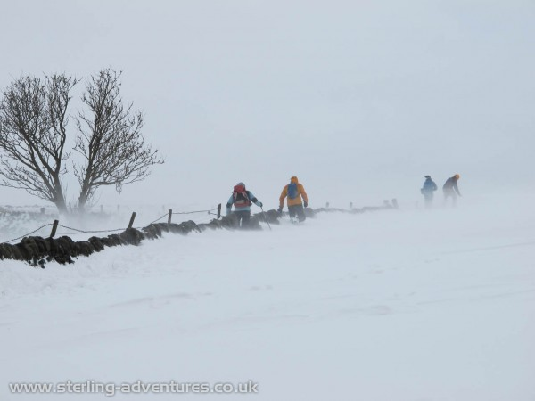 Just above Hathersage the road was completely buried by the mega snow drifts!
