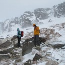 A snow covered Stanage