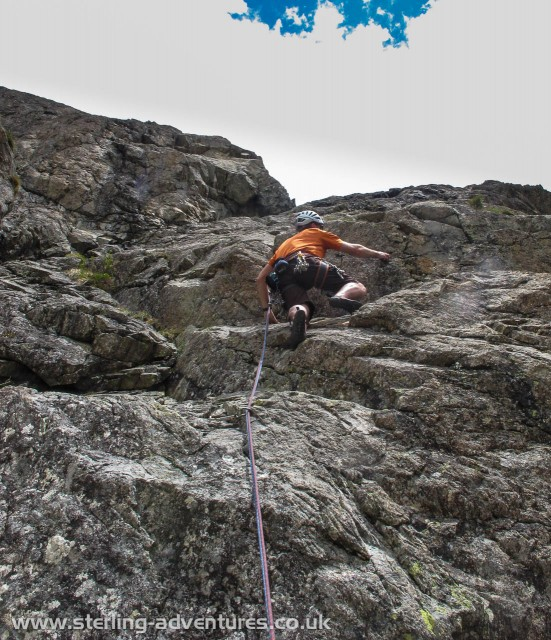 Pete starting the second pitch of Into the Wild