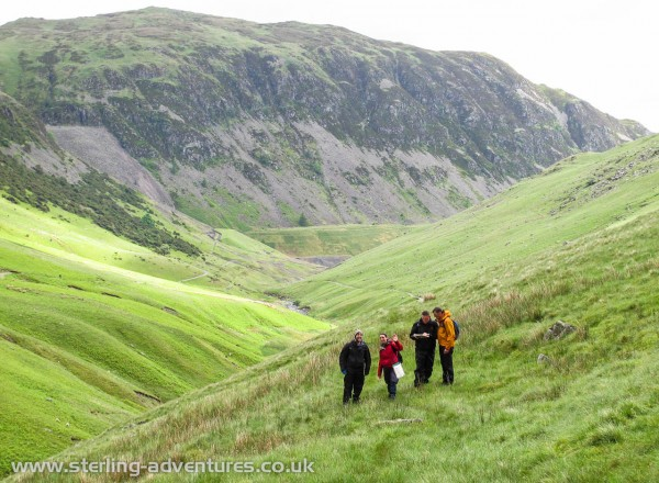 On the way up to Keppel Cove dam