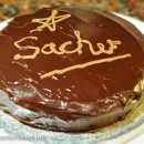 Is this Sacher's Sachertorte?  No, it's mine!