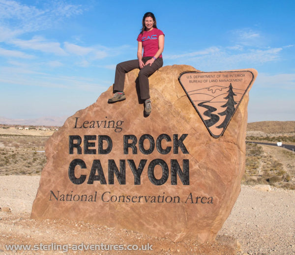 Leaving Red Rock  :-(
