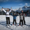 The Martins at Les Houches