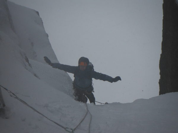 Fine Scottish Conditions on SC Gully