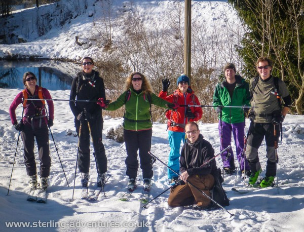 The Spießhorn ski touring team!