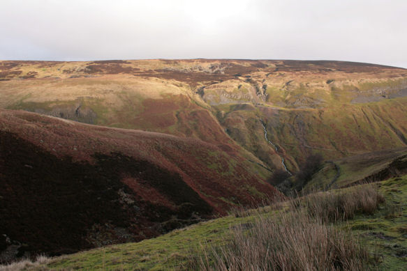 The remains of mining activities around Gunnerside Gill