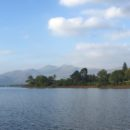 Beautiful evening light on Derwentwater.