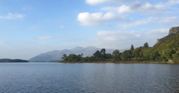Beautiful evening light on Derwentwater